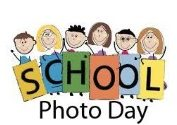 Picture day with students holding signs