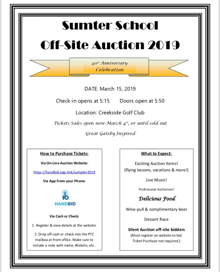 PTC Auction Sign Up Link & Information