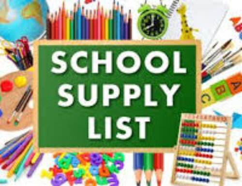 School Supply Lists 21-22